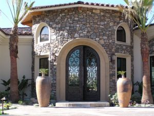 Precast Concrete Entry