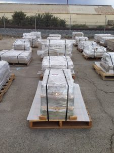 Precast Concrete products Ready for shipping