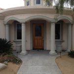 Precast Concrete Entry