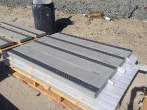 Safety Tread in Precast Concrete Stairs